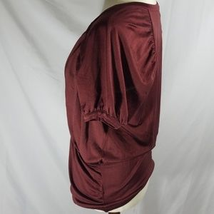 Missoni Tops - Surplice short sleeve silk top  by Missoni sz 40